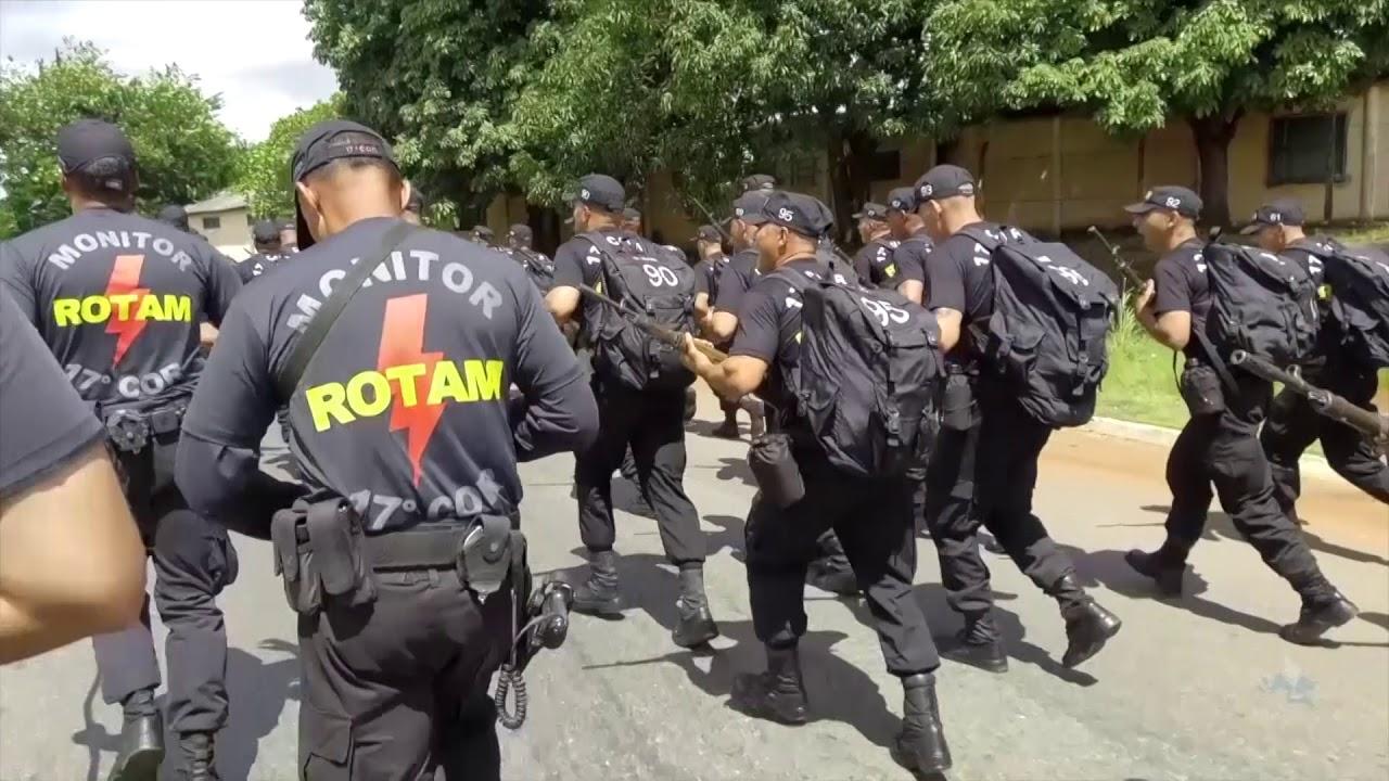 Sessenta policiais participam do 7º Curso de Operações da Rotam