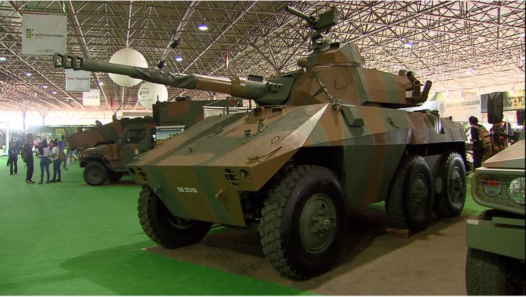 Forças Armadas expõem tecnologia de ponta
