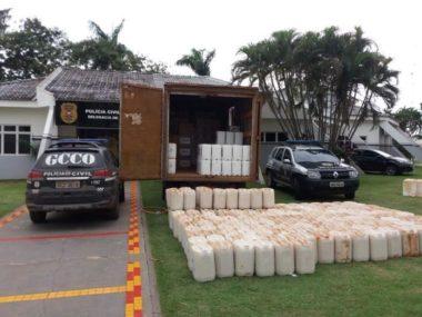 Investigação da GCCO em Lucas do Rio Verde