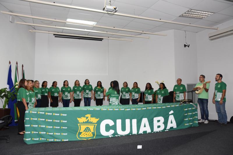 Coral da Secretaria Municipal de Educação representará Cuiabá no mais importante festival de coros do Brasil