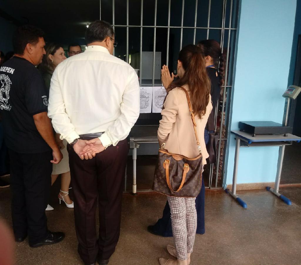 Justiça realiza atendimento no Centro de Ressocialização de Várzea Grande