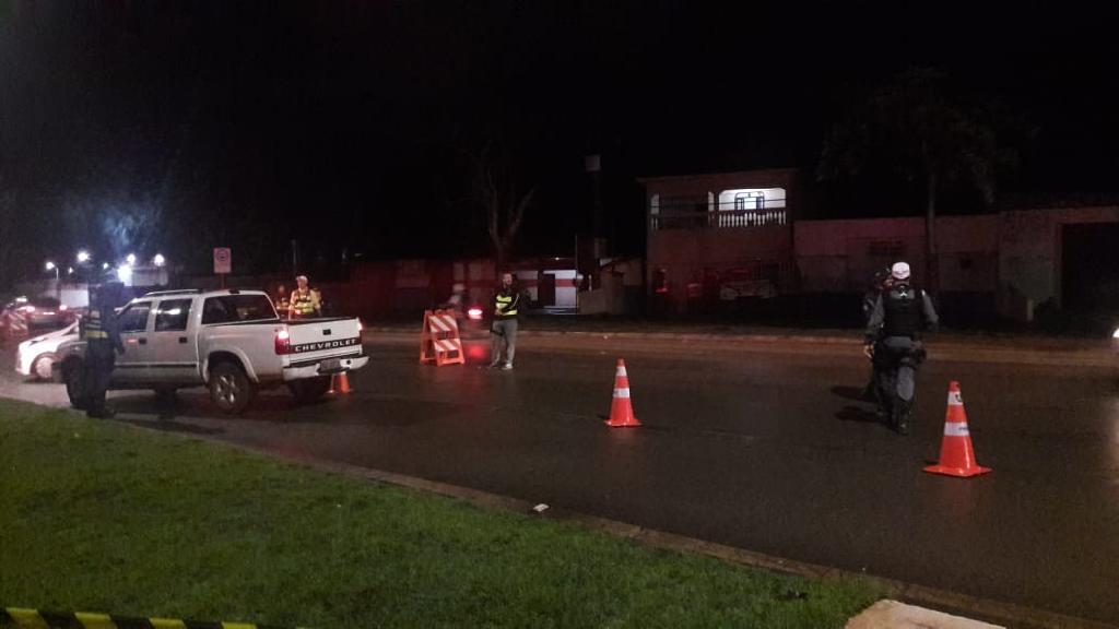 Operação resulta na prisão de sete pessoas por embriaguez ao volante