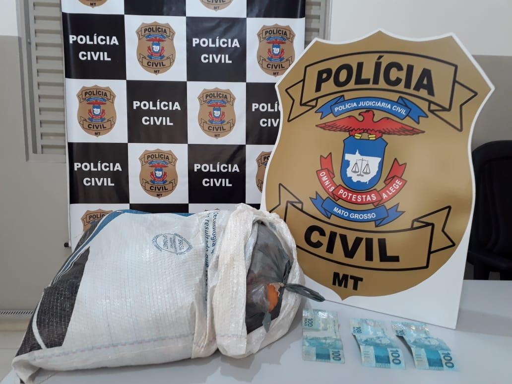 Policiais civis prendem homem por golpes contra moradores de distrito