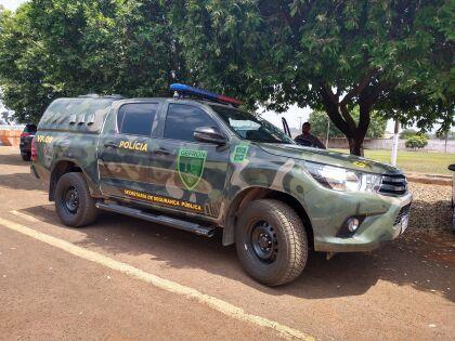 Comissão da AL visita forças de segurança pública na região de fronteira de Cáceres