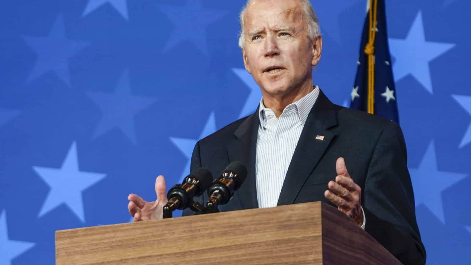 Biden lista prioridades: pandemia, crise, clima e igualdade racial