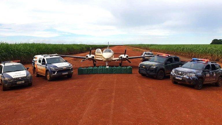 Programa VIGIA apreende cerca de 450 kg de cocaína no Mato Grosso