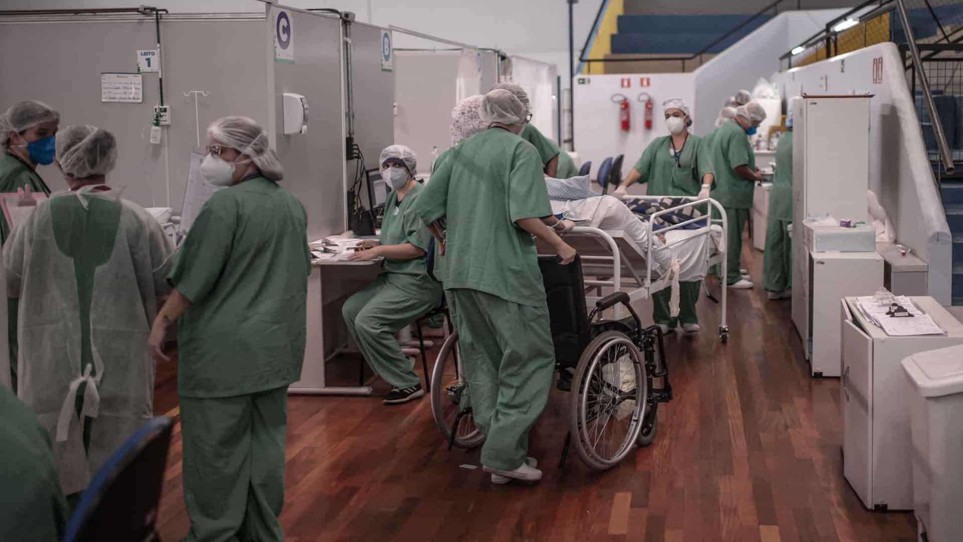 Triplica mortalidade de pessoas até 45 anos nas UTIs brasileiras