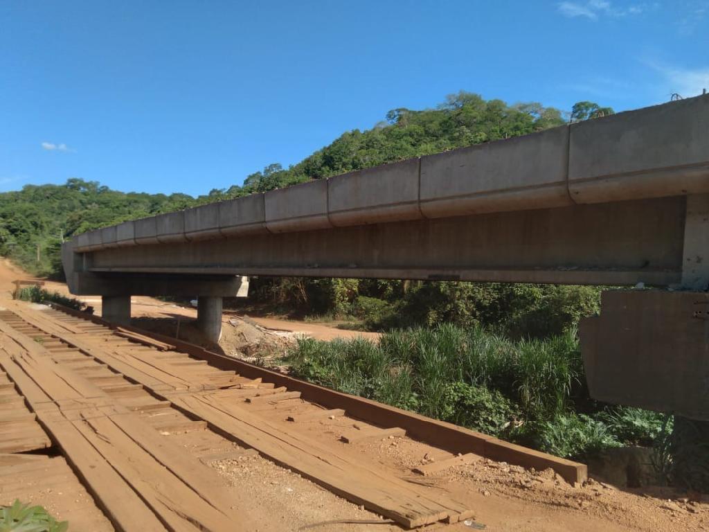 Governo conclui estrutura de seis pontes de concreto na região Araguaia