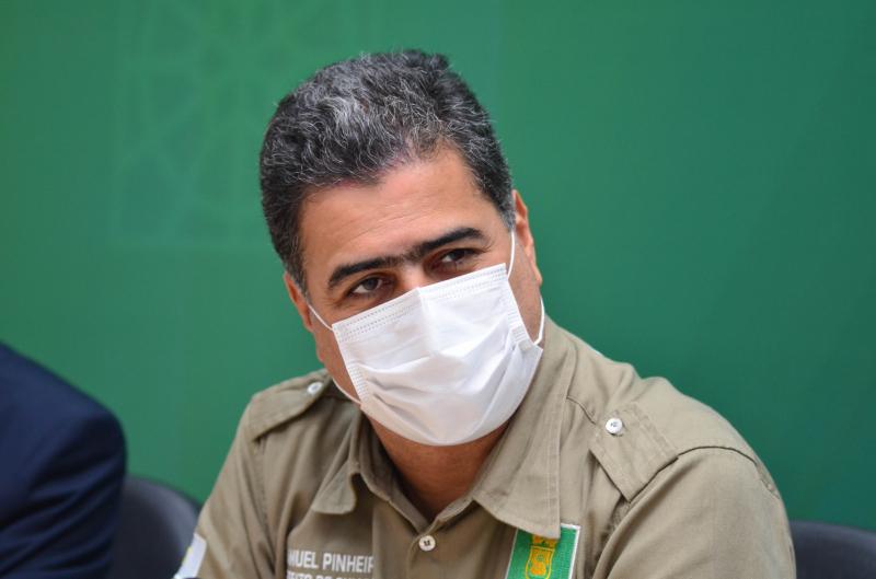 Pinheiro lança Pra Frente Cuiabá: programa de qualificação profissional, desenvolvimento econômico rural e industrial