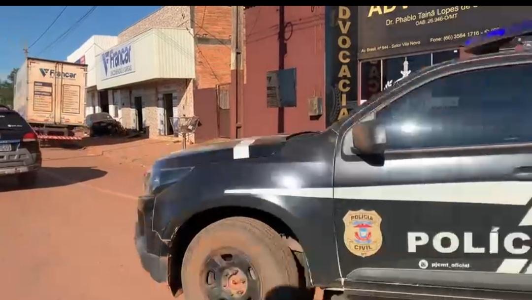 Polícia Civil desarticula organização criminosa que utilizava transportadoras para enviar drogas de Barra do Garças para Confresa