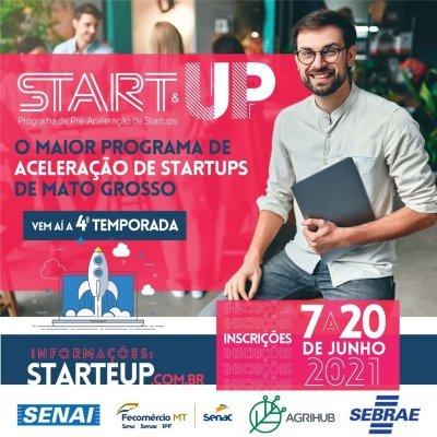 Inscrições abertas para a 4ª edição do Programa Start&UP