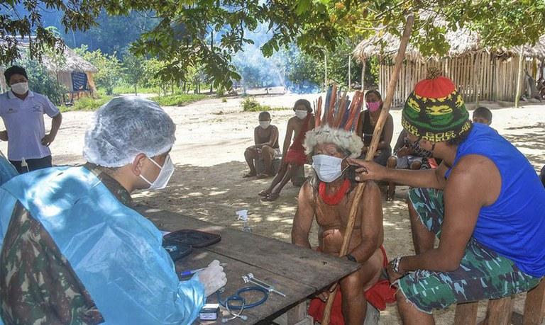 72% dos indígenas já receberam as duas doses da vacina contra a Covid-19