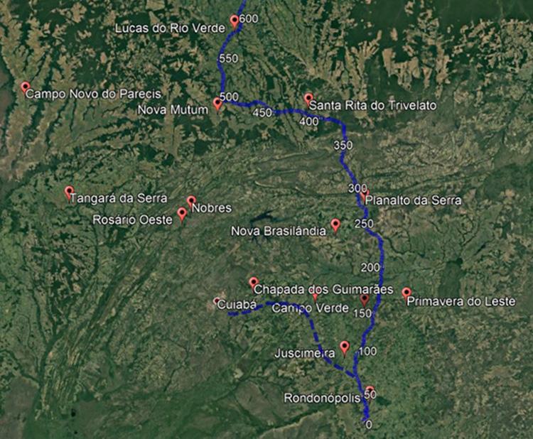 Veja quais são as 3 ferrovias que podem mudar a logística de MT