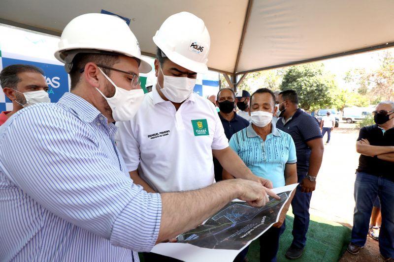 Emanuel Pinheiro reitera compromisso de transformar Cuiabá em referência nacional na entrega de água tratada