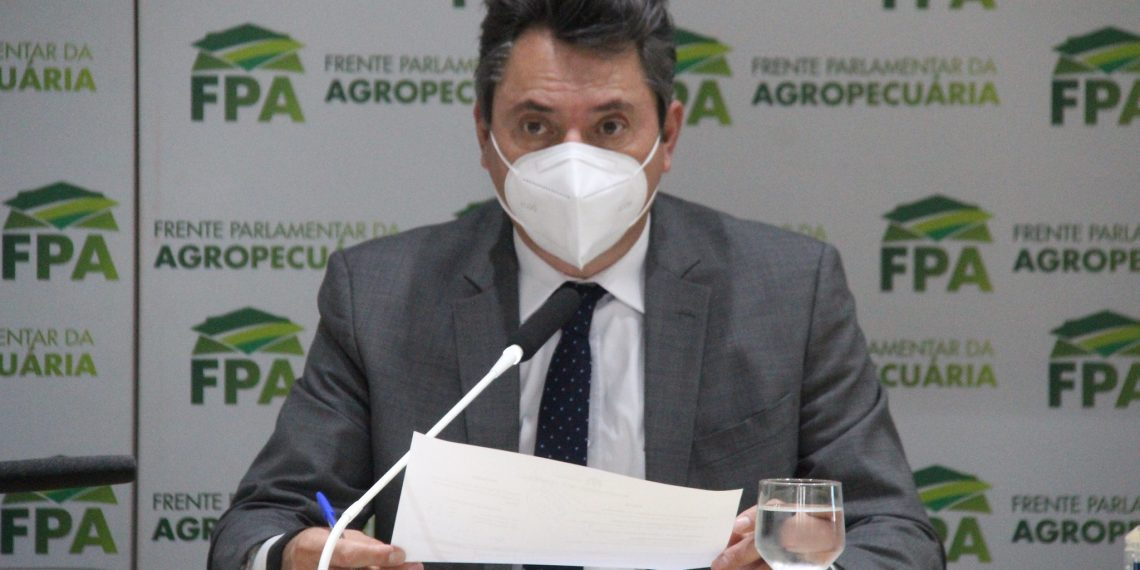 Deputado Sérgio Souza destaca importância de votar projetos do agro no Congresso.