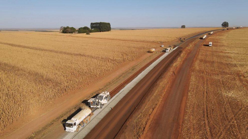 DNIT avança com obras de restauração de rodovia em Mato Grosso para ajudar no escoamento da produção agrícola
