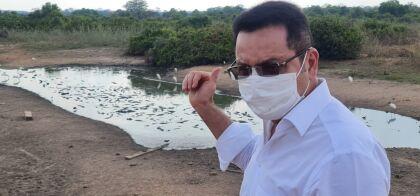 Botelho percorre trechos do Pantanal e se impressiona com devastação do bioma