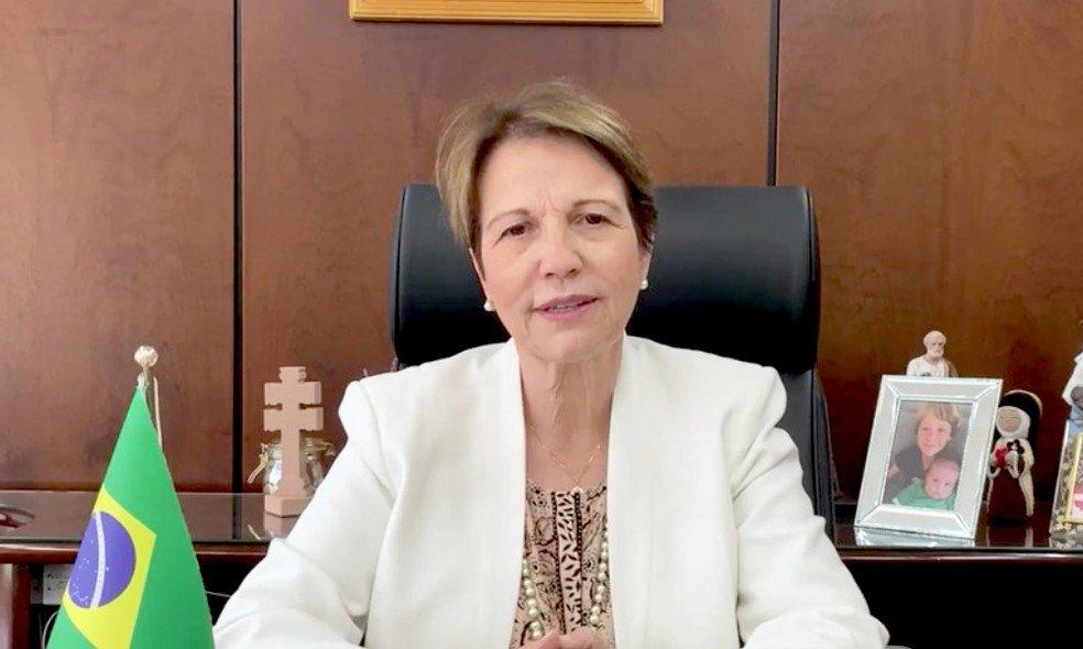 Ministra Tereza Cristina destaca as potencialidades do agro no MasterClass 2021