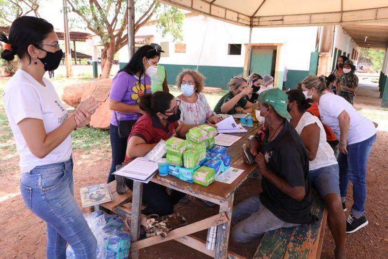 Secretaria de Assistência Social garante alimento e produtos de higiene para trabalhadores do Aterro Sanitário de Cuiabá durante pandemia