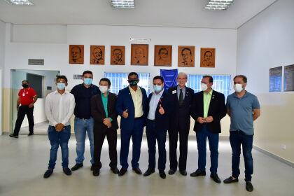 Lions da Visão é inaugurado e denomina bloco com nome do deputado Botelho